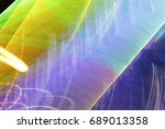 lighting effect  multicolored... | Shutterstock . vector #689013358