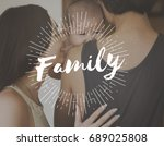 family parentage home love... | Shutterstock . vector #689025808