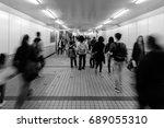 hong kong   march 18  2016  ... | Shutterstock . vector #689055310