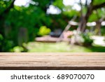 blurred background of home... | Shutterstock . vector #689070070