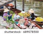 Tha Kha Floating Market  Samut...