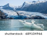 View Of Portage Glacier On The...
