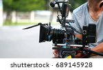 behind the scenes of movie... | Shutterstock . vector #689145928