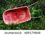 Abandoned Wheelbarrow