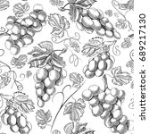 organic fresh seamless pattern...