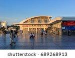 xiamen china   aug 23  2014... | Shutterstock . vector #689268913