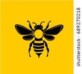 bee art | Shutterstock .eps vector #689270218