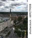 Small photo of Luxembourg city center sightseeing