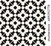 vector seamless pattern in... | Shutterstock .eps vector #689292778