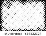 halftone dots texture... | Shutterstock .eps vector #689322124