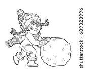 coloring book for children ...   Shutterstock .eps vector #689323996