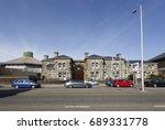 swansea  uk  march 11  2016  hm ... | Shutterstock . vector #689331778
