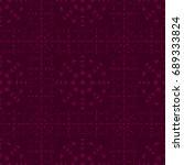 seamless pattern. modern... | Shutterstock . vector #689333824
