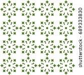 seamless pattern. modern... | Shutterstock . vector #689333830