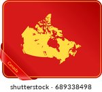 map of canada | Shutterstock .eps vector #689338498