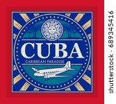 stamp or vintage emblem with...   Shutterstock .eps vector #689345416