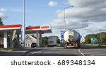 carmarthen  uk  july 05  2016 ... | Shutterstock . vector #689348134