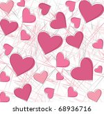 beautiful seamless pattern the... | Shutterstock .eps vector #68936716