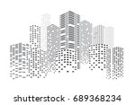 City Skyscrapers Vector...
