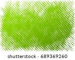 halftone dots texture... | Shutterstock .eps vector #689369260