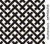 vector seamless pattern. modern ... | Shutterstock .eps vector #689406358