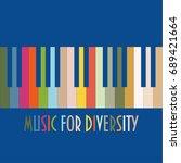 support diversity concept... | Shutterstock .eps vector #689421664