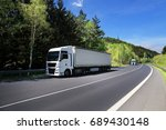 truck on the road | Shutterstock . vector #689430148