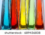 Colored Glass Background