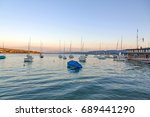lake zurich  zurichsee  at... | Shutterstock . vector #689441290