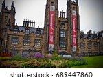 general assembly hall  arts...   Shutterstock . vector #689447860