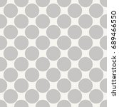 seamless pattern with polka dot....   Shutterstock .eps vector #689466550