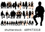 vector  collection of... | Shutterstock .eps vector #689473318