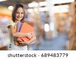 girl. | Shutterstock . vector #689483779