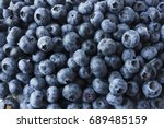 Fresh Blueberry Background....