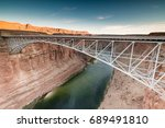 wonderful view of the colorado... | Shutterstock . vector #689491810