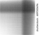 geometric black and white... | Shutterstock . vector #689500696