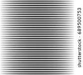geometric black and white... | Shutterstock . vector #689500753