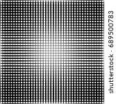 geometric black and white... | Shutterstock . vector #689500783