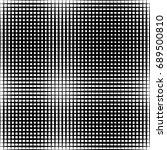 geometric black and white... | Shutterstock . vector #689500810