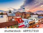 annapolis  maryland  usa... | Shutterstock . vector #689517310
