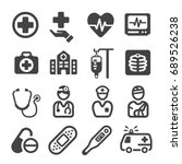 medical icon | Shutterstock .eps vector #689526238