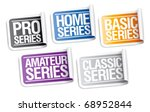 marking of products for home... | Shutterstock .eps vector #68952844