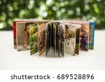 family photos archive saved in... | Shutterstock . vector #689528896