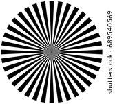 circular  radiating abstract... | Shutterstock . vector #689540569
