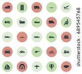 vector illustration set of... | Shutterstock .eps vector #689545768
