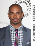 Small photo of Beverly Hills, CA, USA; October 16, 2012; Damon Wayans Jr arrives to the 'An Evening with Happy Endings & Don't Trust the B---- in Apartment 23' at the Paley Center for Media.