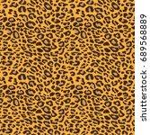 leopard pattern | Shutterstock .eps vector #689568889