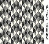abstract broken geometric motif ... | Shutterstock .eps vector #689582788