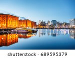 Albert Dock At Waterfront In...