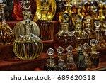 different essential oils | Shutterstock . vector #689620318